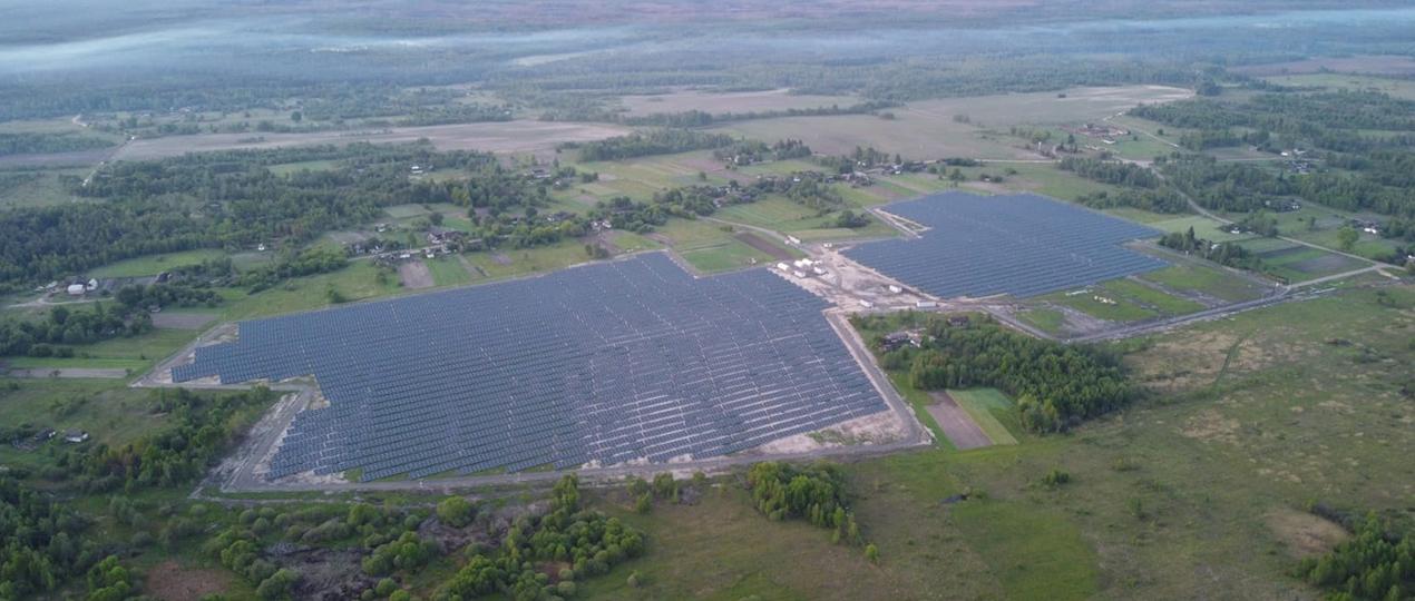 Ukrayna Ihnatpil Güneş Enerjisi Santrali