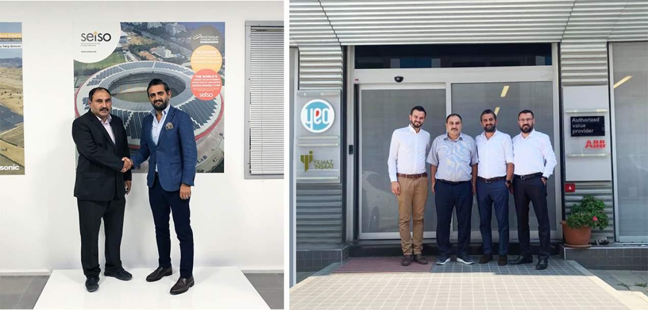 Güneş Enerjisi sektöründe daha güçlü çözümler için YEO Solar ve SEİSO Enerji iş birliği anlaşması imzaladılar.