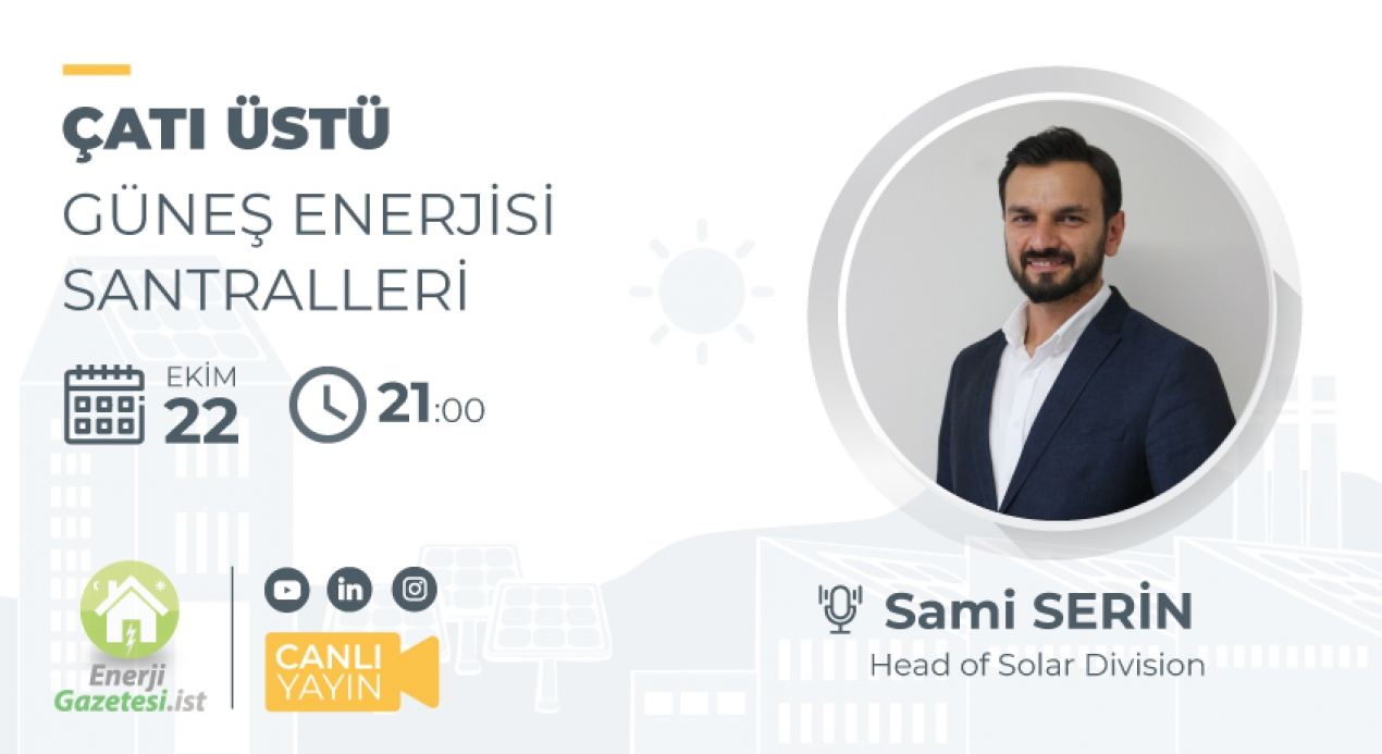 We Will Be The Live Broadcast Guest of Enerji Gazetesi