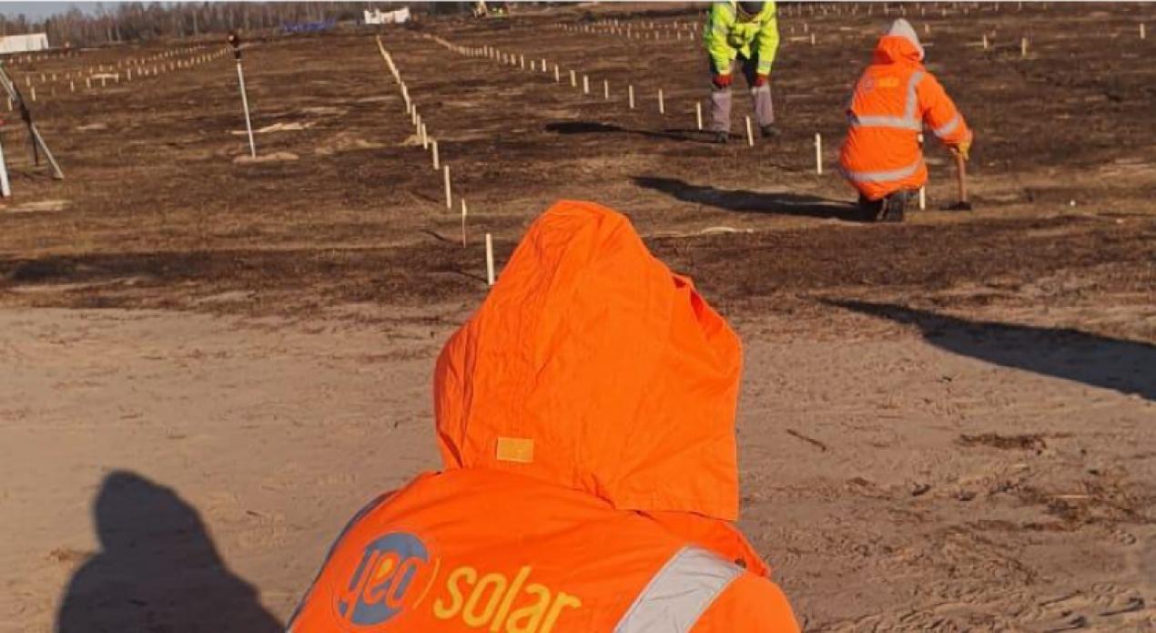 YEO Solar Ukrayna'da 16MW Güneş Santrali Projesini Başlattı