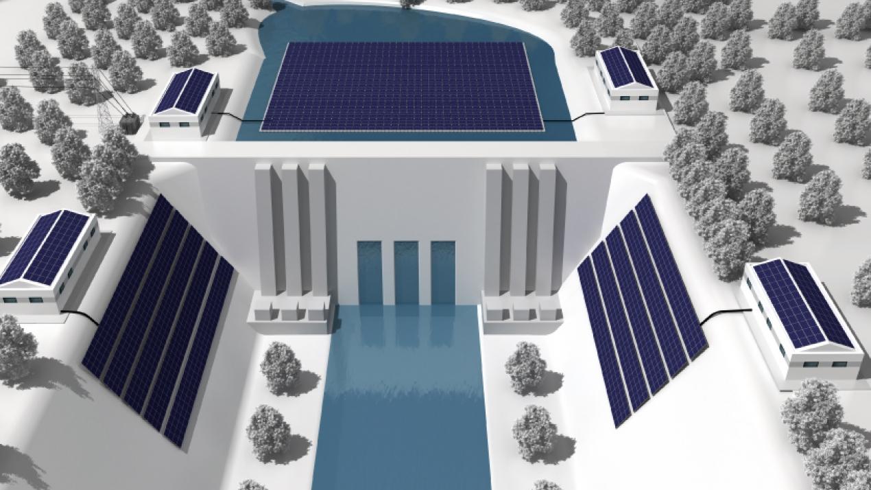 YEO Solar Yüzer Güneş Enerjisi Santralleri Çözümleri Sunuyor
