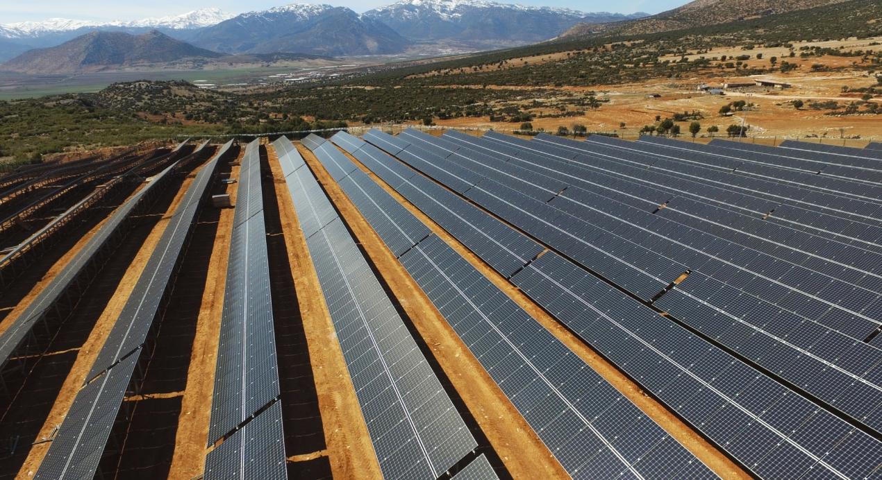 Elmalı Solar Power Plant