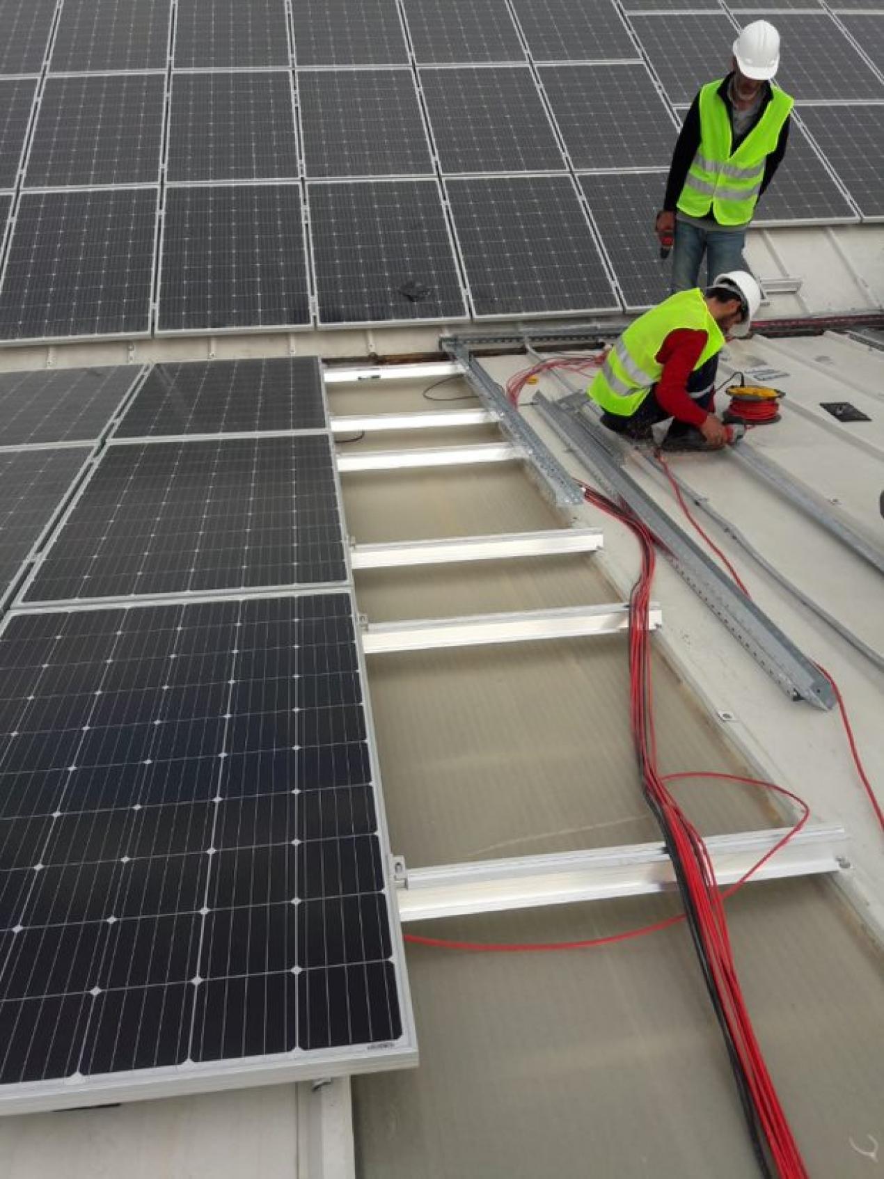 Nida Plastik Rooftop Solar Power Plant